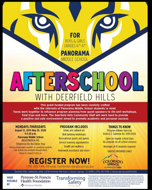 Join Deerfield Hills after school program.