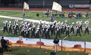 Harrison High School Marching Band Competes in 2019 CBA Marching Band Championship