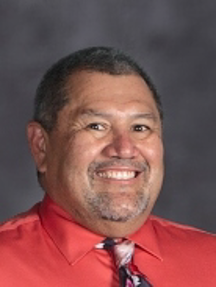 A Picture of Harrison High School Principal Peter Vargas